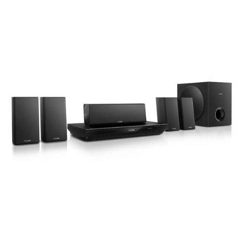 Blu-Ray/DVD/DivX/3D/Smart TV sistem za domači kino Philips HTB3520G (5.1, BT/NFC)