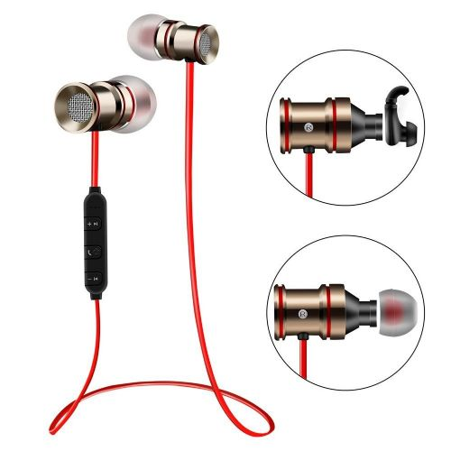 Bluetooth slušalke BTH-828 - zlate