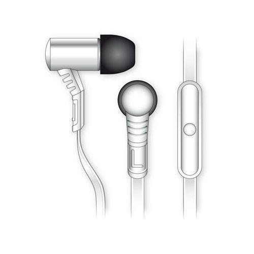 Celly stereo slušalka z mikrofonom BSIDE bela