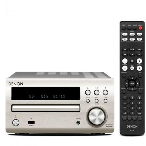 Denon cd receiver RCD-M40 srebrn