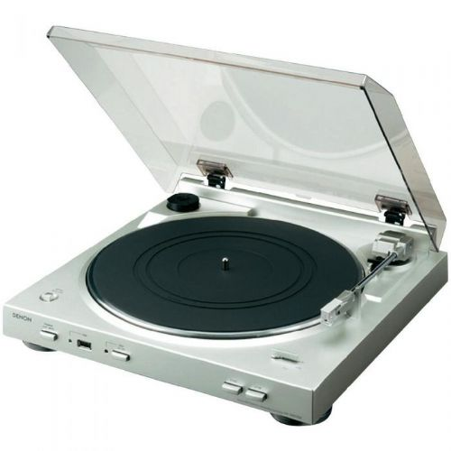 Denon gramofon DP-200USB srebrn