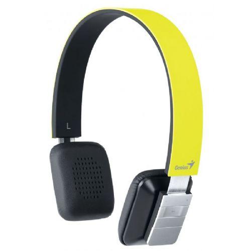 Genius Bluetooth stereo slušalke HS-920BT rumene