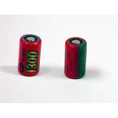Industrijska 2/3AF 1300 mAh Ni-Mh polnilna GP baterija