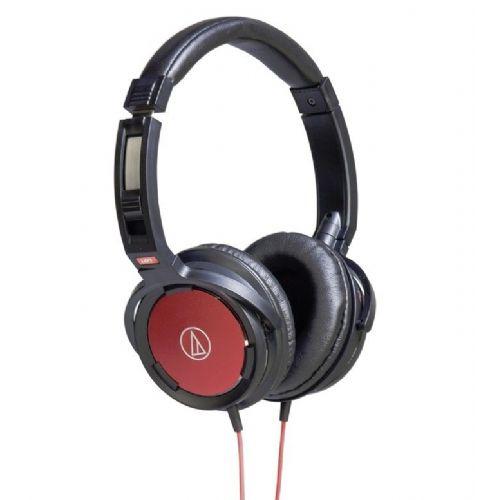 "Monitor Over-Ear slušalke Audio-Technica ""Solid Bass"" ATH-WS55 - rdeče"