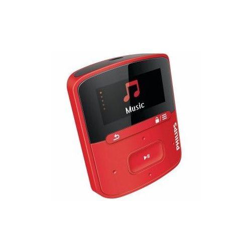 PHILIPS SA4RGA04RF/12 MP3-predvajalnik s FullSound (raga)