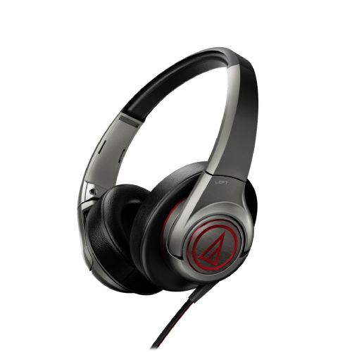 "Premium Over-Ear slušalke Audio-Technica ""SonicFuel"" ATH-AX5iS - gunmetal"