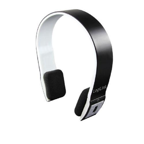 Slušalke Logilink Bluetooth Stereo V2.1+EDR, črne barve