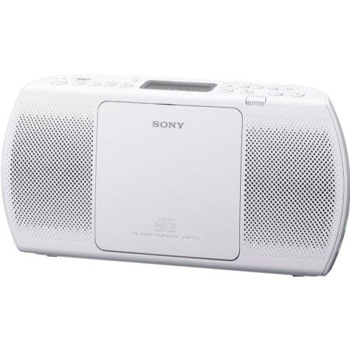 SONY Radio ZSPE40X100 Bel + DARILO Slušalke
