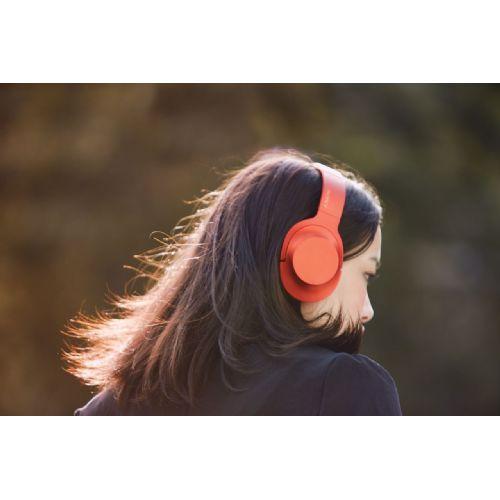 SONY MDR100 slušalke z zvokom visoke ločljivosti h.ear on ( rdeče barve)
