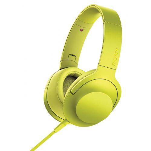 SONY MDR100 slušalke z zvokom visoke ločljivosti h.ear on ( rumene barve)