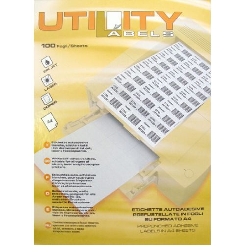 Etikete Utility 99,1 x 67,7 mm