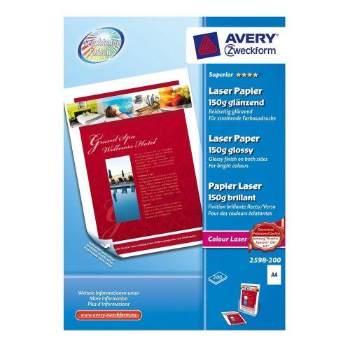 Foto papir barvni laserski Superior A4 - 150 g, 2598-200