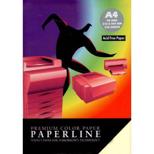 Fotokopirni papir Paperline 80 gm - A4, pastel mix