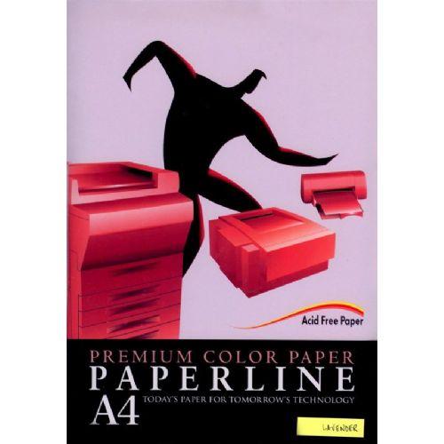 Fotokopirni papir Paperline A4, barvni - Lavender
