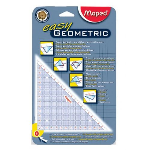 Geo trikotnik Maped Easy Geometric
