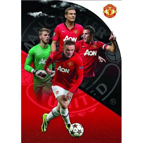 Mapa z elastiko Manchester United 62216