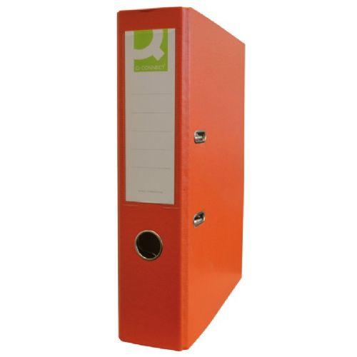 Registrator A4/75 Connect z ovojem oranžne barve