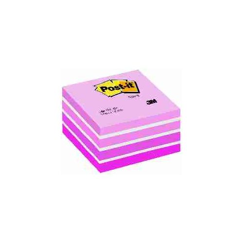 POST-IT KOCKA 2028P PASTELNO ROZA