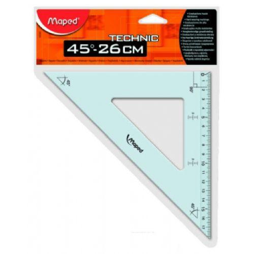 Trikotnik Maped Technic 26 cm/45'