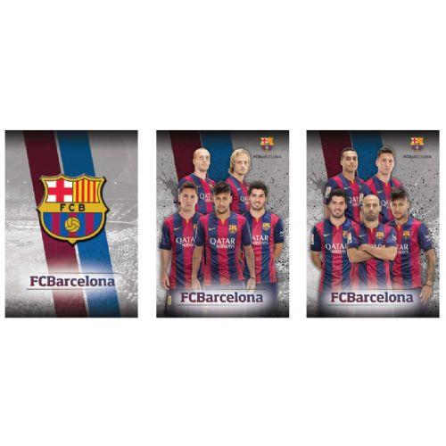 Zvezek Barcelona mali karo A4