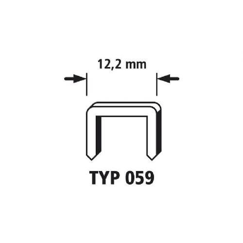 1250 Sponke s širokim hrbtnim delom 1250 kos Wolfcraft 7203000 tip 059
