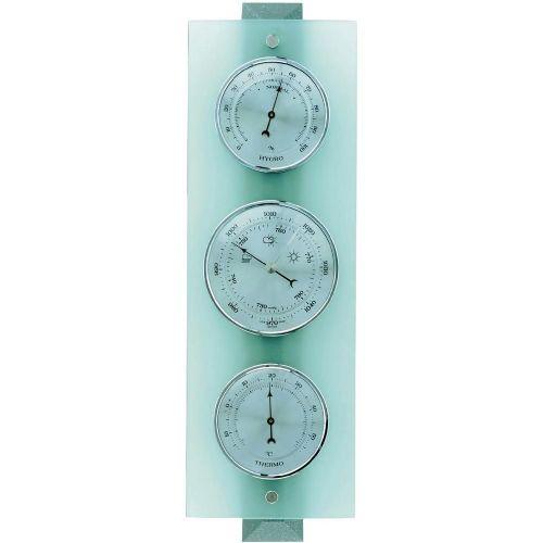 Analogna vremenska postaja TFA, bukev/steklo, notranja uporaba, 20.1067.17