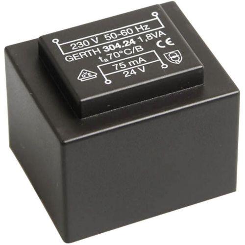 EI 30/15,5 Transformator za tiskana vezja, primarni: 230 V sekundarni: 6 V 300 mA 1.8 VA Gerth