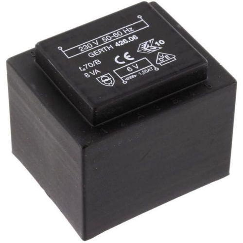 EI 42/20 Transformator za tiskana vezja, primarni: 230 V sekundarni: 12 V 666 mA 8 VA Gerth