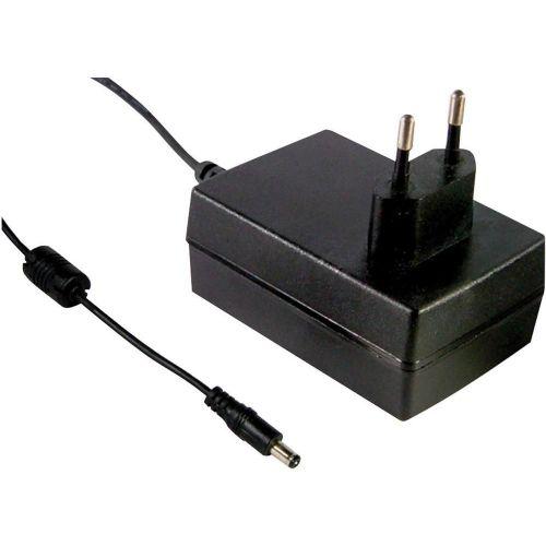 Vtični-napajalnik, nastavljiv MeanWell GSM36E24-P1J 24 V/DC 1500 mA