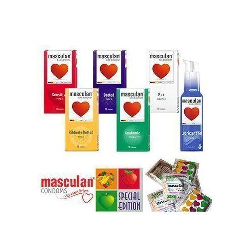 Masculan kondomi MAXI PAK 1 + Lubrikant Silk 75ml - 70 kosov