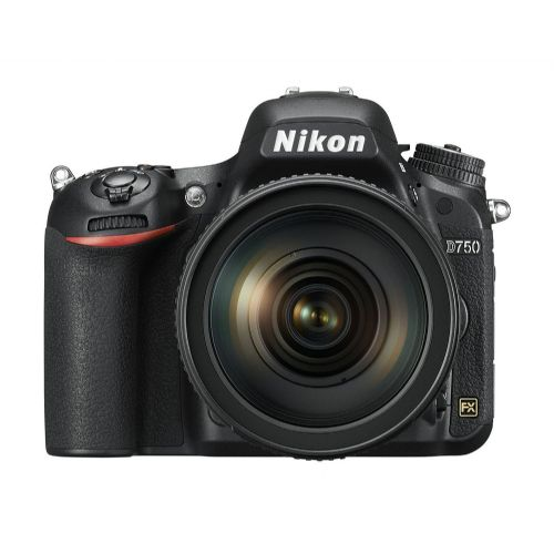 DSLR Fotoaparat NIKON D750 + AF-S 24-120 mm VR