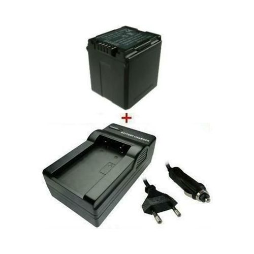 Baterija + LADEGERÄT za Panasonic VW-VBG260/E-K Info Chip