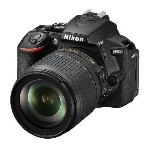 DSLR Fotoaparat NIKON D5600 + AF-S DX 18-105mm VR
