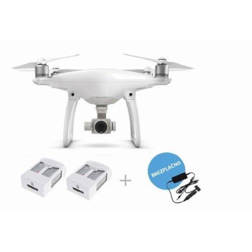 Dron DJI Phantom 4 + avtopolnilec