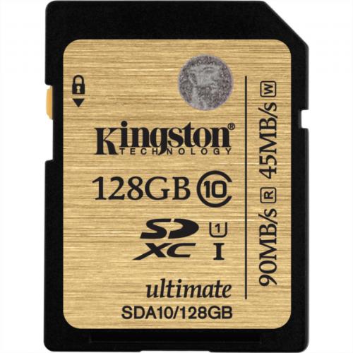 Spominska kartica KINGSTON 128GB SDXC CL10 UHS-I 90/45MB/s