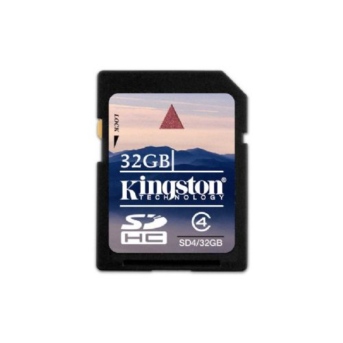 KINGSTON 32GB SECURE CARD SD4/32GB