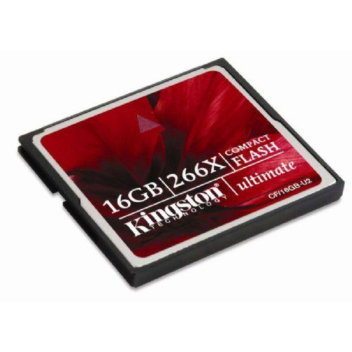 Spominska kartica KINGSTON Compact Flash Ultimate 266x 16GB