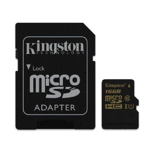 Spominska kartica KINGSTON microSDHC Class10 UHS-I 16GB