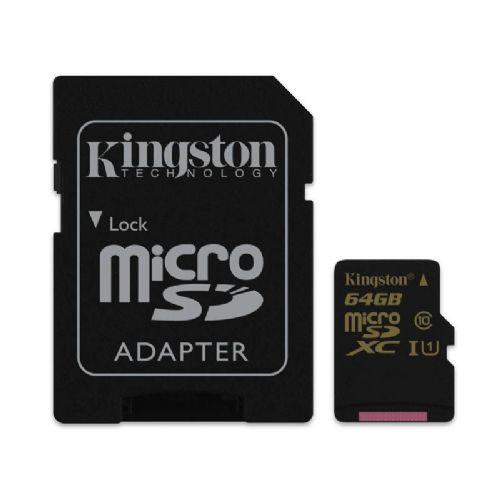 Spominska kartica KINGSTON microSDXC Class10 UHS-I 64GB