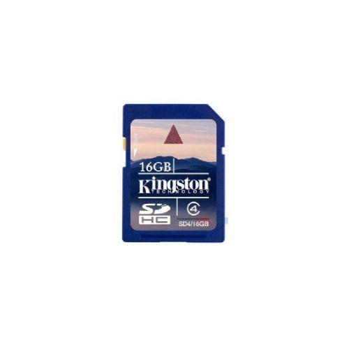 Spominska kartica KINGSTON SDHC Class4 16GB