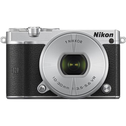 Brezzrcalni fotoaparat NIKON 1 J5 KIT + 10-30mm (PDZ) Srebrn