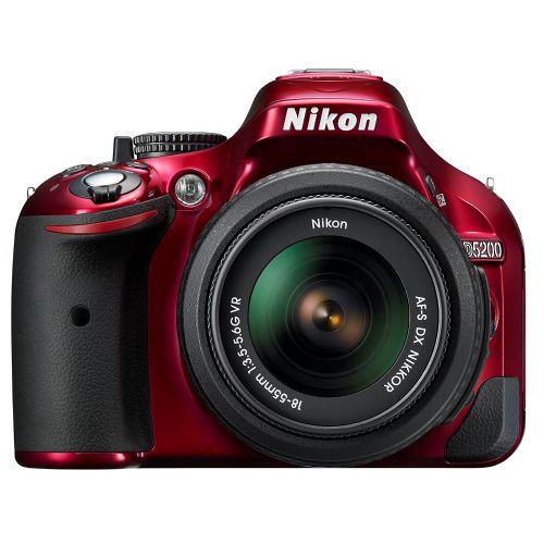 DSLR Fotoaparat NIKON D5200 + 18-55mm VR