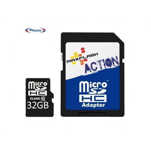 Spominska kartica Micro Secure Digital (microSDHC) Action 32GB Max-Flash