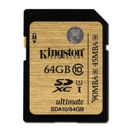 Spominska kartica SDXC KINGSTON UHS-I 64 GB C10