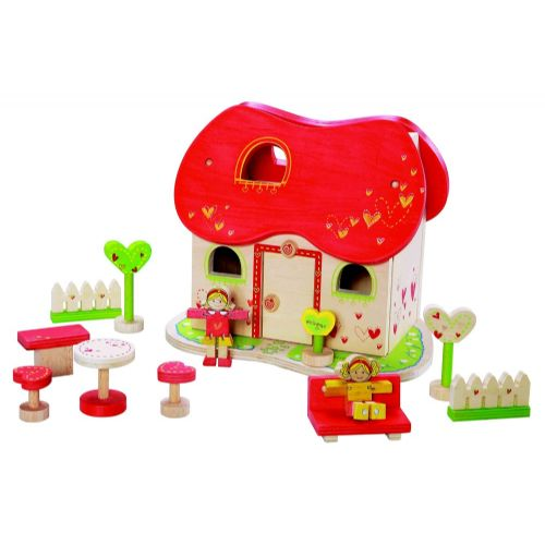 Lesena igrača - pravljična hiša (art. 30978)