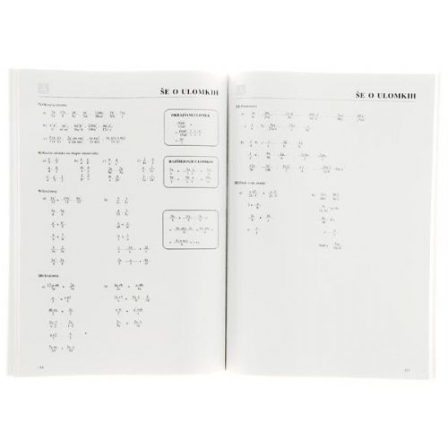 za preverjanje znanja karakteristike vaje iz matematike za 8 razred