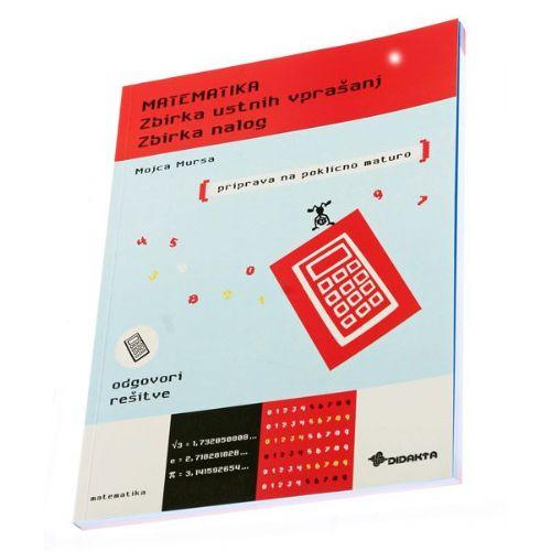 Matematika (Zbirka ustnih vprašanj, zbirka nalog)