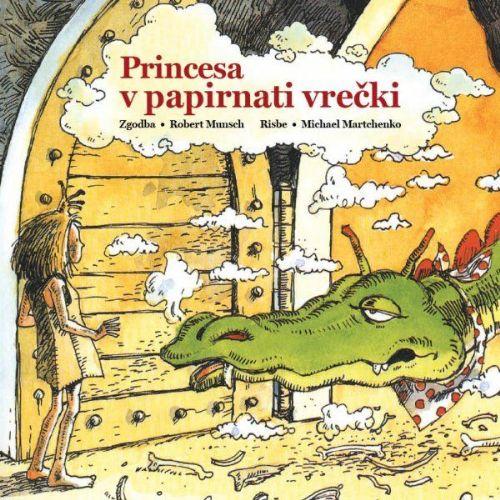Princesa v papirnati vrečki