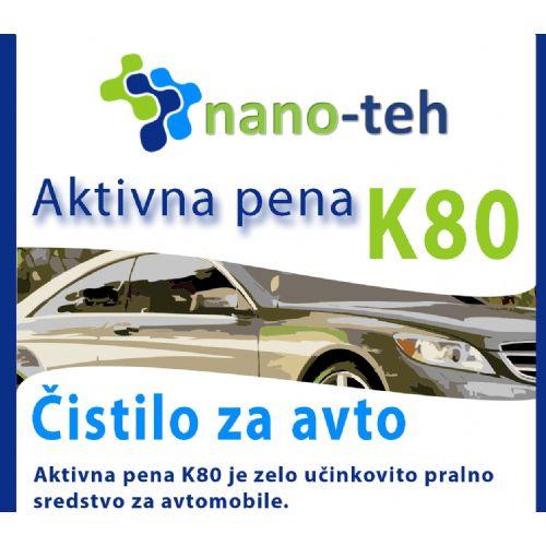 AKTIVNA PENA ZA PRANJE AVTA K80 1 L NANO-TEH
