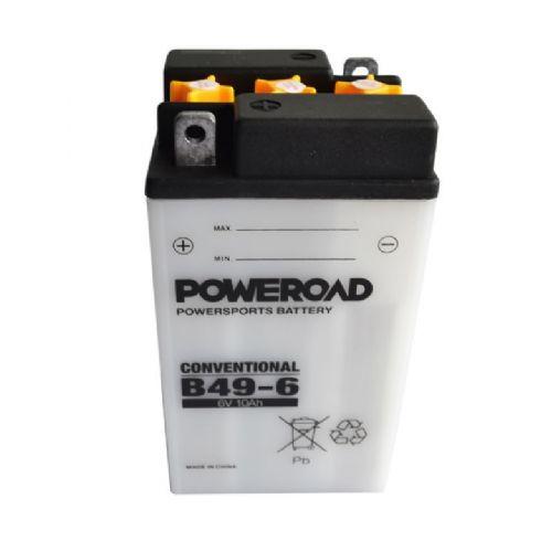 Akumulator za motor B49-6 POWEROAD (standardni, 6V 10Ah 91x83x160)